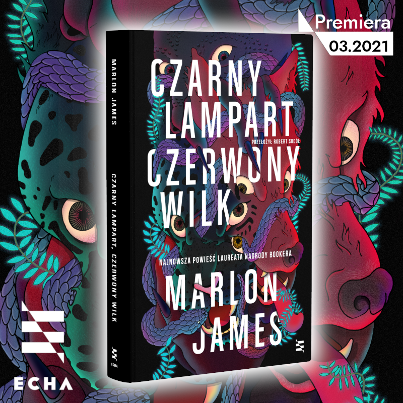 Marlon James drugim autorem w Echach